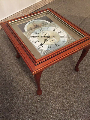 Rare Antique One of a Kind - Thomas Husband Hull Quartz Clock Table - 1760
