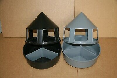 2 x Grit Feeder With Compartment for Racing Pigeons