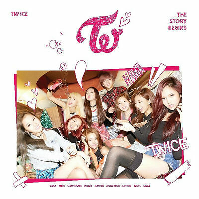 Twice The Story Begins (1st Mini Album) [CD+Booklet+Garland+3Cards+Poster], Kpop