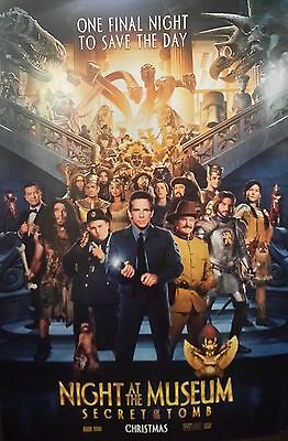 Night at the Museum:Secret of the Tomb Ver B Original Movie Poster 2Sided 27x40