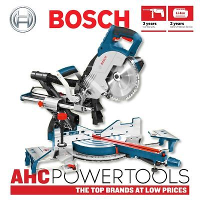 Bosch GCM8SJL Single Bevel Sliding Mitre Saw 240V