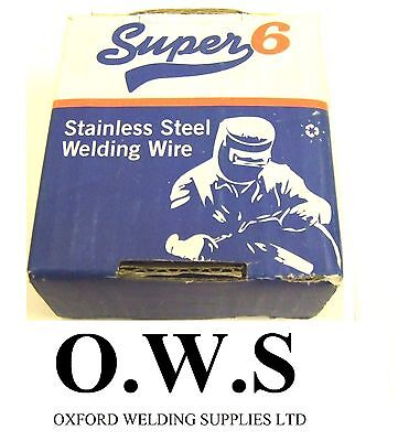308 LSI Stainless Steel Mig Welding Wire - 0.8mm x 0.7kg SUPER 6