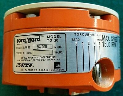 Torq Gard Overload Clutch Limiter Browning Emerson TG 20
