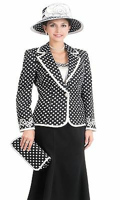 Sunday Best Women Church Suit Standard to Plus Size L377 Soft Crepe Fabric
