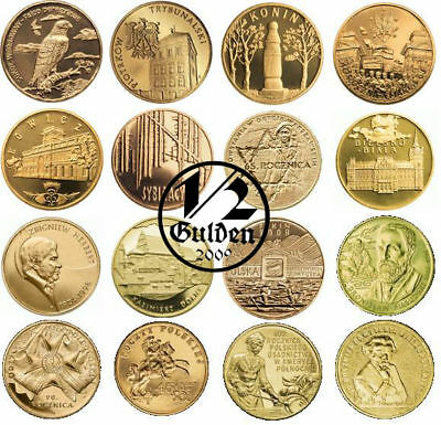 Poland Complete Set Of 16 Coins 2 Zloty 2008 Nordic Gold Uncirculated Numishop