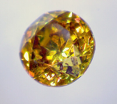 natural Spanish SPHALERITE faceted round 4 mm 0,46 ct - Saphirboutique GERMANY
