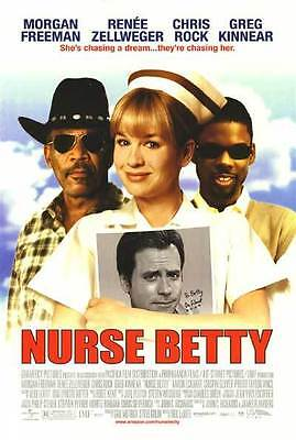 Nurse Betty Regular Original Single Sided Movie Poster 27x40 inches