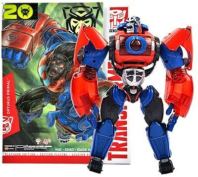 Transformers Platinum Year the Monkey Air Attack Primal Optimus Prime G1 Color