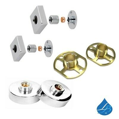 Round or Square Easy Plumb Concealed Full Cover Fixing Kit For Shower Bar Valve