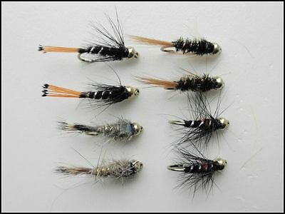 3 Fritz Damsel Nymphs Trout // Grayling Flies