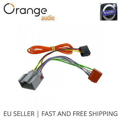 WIRING HARNESS ADAPTER for Volvo XC90 2002- ISO stereo plug ... on 98 volvo s70 dash switch wiring, 2000 volvo truck stereo wiring, 1998 volvo v70 stereo wiring, volvo 740 headlight wiring, 2006 volvo xc70 radio wiring,