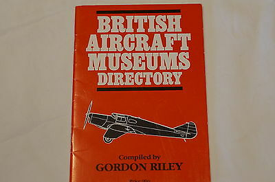 WW1 WW2 Britsh RAF British Aircraft Museums Directory  Reference Book