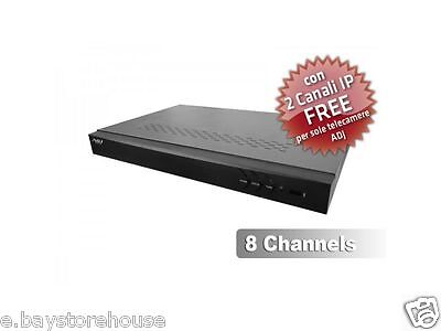 DVR Horizons 2 ADJ H.264 8 Canali Video 1Canale Audio WD1 1 CANALE IP FREE