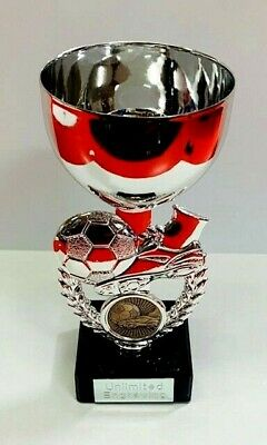 Football Trophy Cup - With FREE Engraving + FREE P&P