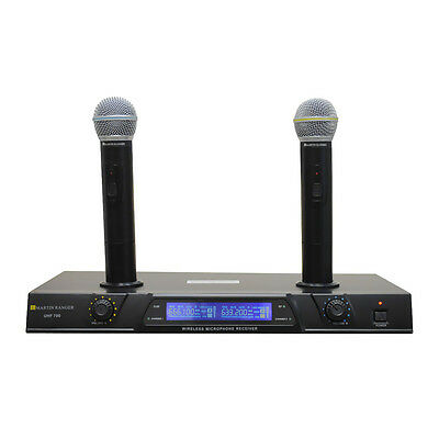 MARTIN RANGER UHF700 UHF Dual Channel Mic Rechargeable