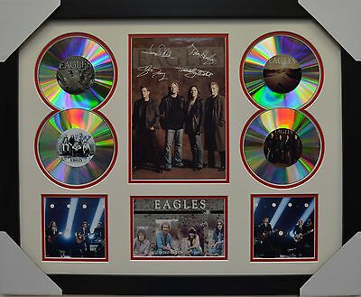 The Eagles 4Cd Signed Framed Memorabilia Limited Edition