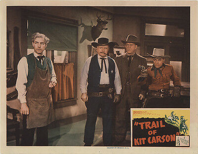 Trail of Kit Carson 1945 Original Movie Poster Western