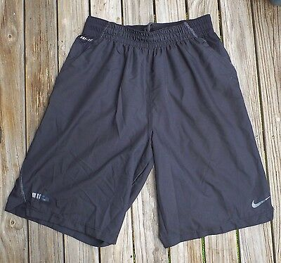 Medium Mens NIKE DRI FIT Shorts Black Pre Owned Great Condition