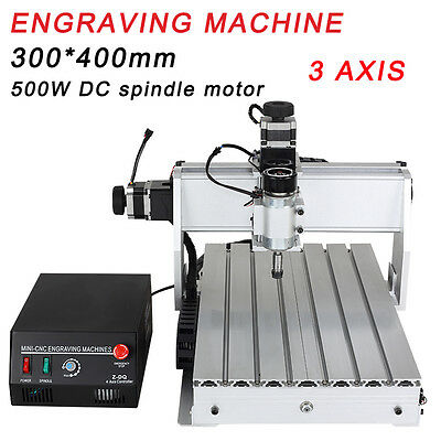 Router CNC 3040 Engraver Machine Frame Engrave Complete Craft Make