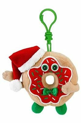 Whiffer Sniffers Peppermint Paulie Donut Scented Backpack Clip Holiday Series