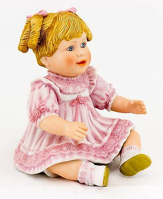 QVC Porcelain doll in pink limited edition Camelot series