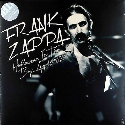 LP FRANK ZAPPA Halloween In The Big Apple 1977 LIMITED EDITION CLEAR VINYL NEW