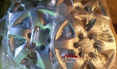 KIA GRAND CARNIVAL 2006-2014 GENUINE BRAND NEW WHEEL HUB CAP A SET - 4 Hub Caps
