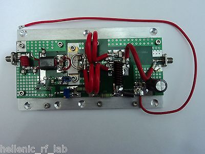 140-150MHZ RF POWER AMPLIFIER PALLET-SMA VHF 300WATTS with BLF278 or MRF151G new