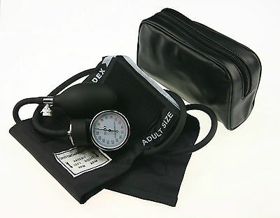 Professional Aneroid Sphygmomano Blood Pressure Monitor cotton Adult Size Cuff