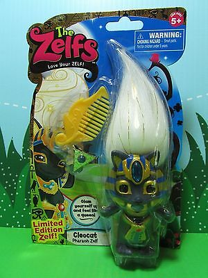 "CLEOCAT PHARAOH ZELFS - 3"" Moose Toys - NEW - Extremely Rare Limited Edition"