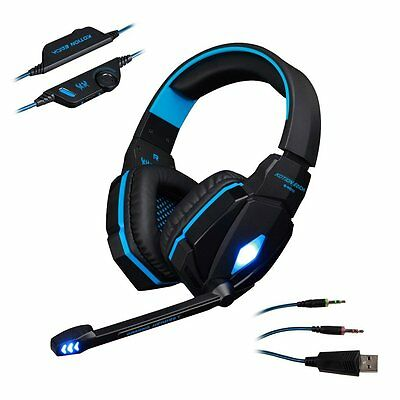 Kotion EACH OGNI G4000 3.5mm Cuffie da Gioco Gaming Stereo Professionale LED