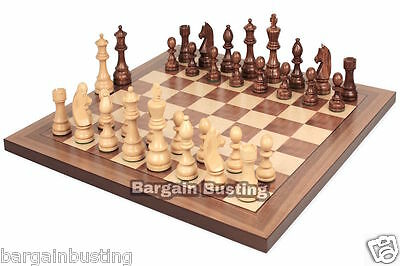 Wooden Chess 30 X 30Cm Brand New Classic Folding Set Chess Board Game Uk Seller