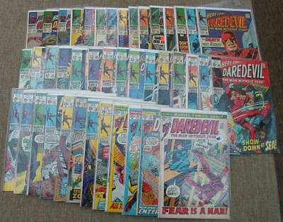 MARVEL Comics DAREDEVIL Bundle run  VOL 1 24-90  42 issues