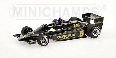 MINICHAMPS 100 780006 LOTUS FORD 79 F1 model car Ronnie Peterson 1978 1:18th