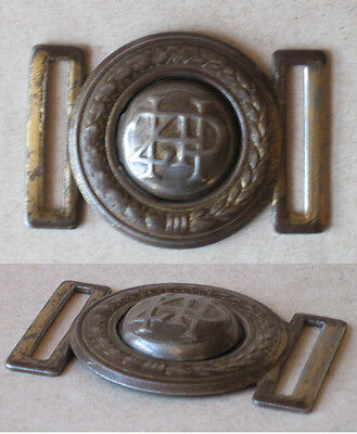 Old Polish Boy Scout Belt With Buckle Z.h.p.