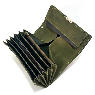 Suede Waiter Wallet Use Leather Wallet Waiter's Money Pouch Case Taxi Wallet