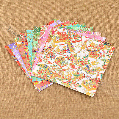 Japanese Style Washi Paper Multicolour Origami DIY Paper Craft Supplies 10 pcs