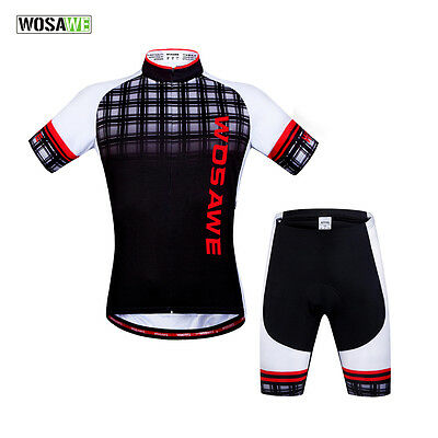 New Cycling Jersey Bike Bicycle Clothing Short Sleeve Suit Short Set Breathable