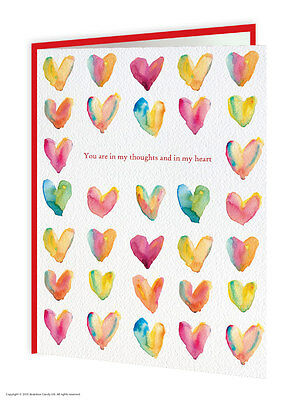 Missing You Thinking Of You Greeting Card Brainbox Candy Modern Hearts Different