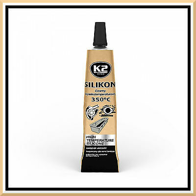 21g High Temperature Silicone +350°C Heat Resistant Glue Adhesive Sealant Black