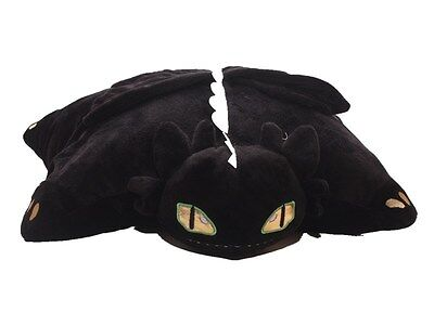 15'' How to Train Your Dragon NIGHT FURY TOOTHLESS Cushion Soft Plush Toy AA*