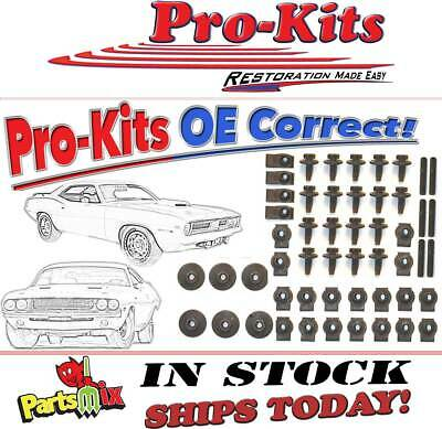 70 71 72 73 74 Dodge Challenger Cuda 70 AAR Plymouth Cuda Fender Bolts Kit