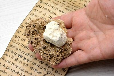 HUGE White Yellow Sulfur ball brimstone Biblical Bible Holy land Sodom Gomorrah