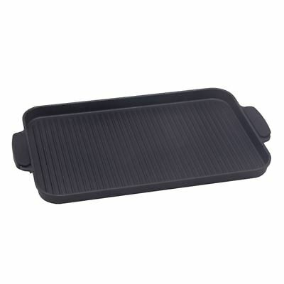 Benzer - Premium Non-Stick Induction Rectangular Stovetop Griddle with Silicone