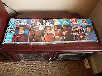 7 Star Trek The Original Crew Film Magazines Numbers  1 - 7 Very Rare