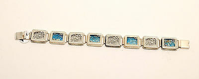 Roman Glass Bracelet Authentic & Luxurious With Certificate Sterling Silver 925