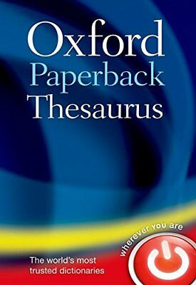 Oxford Paperback Thesaurus - Oxford Dictionaries - Brand New - Paperback - 01996