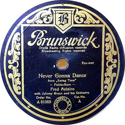 Fred Astaire - Never gonna dance - 1936