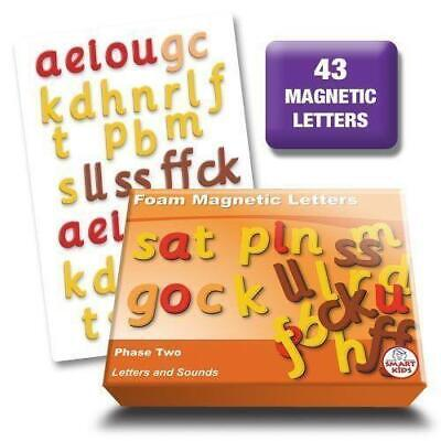 Letters and Sounds Phase 2 Foam Magnetic Letters Literacy Phonics Teaching