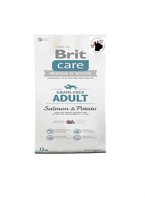 Brit Care Adult Salmon 12kg Potato Grain free - 736